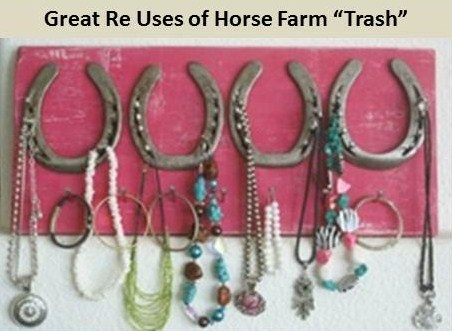 Riding ecoequine for Things to make with old horseshoes