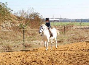 Kid on pony_Greta Corkran