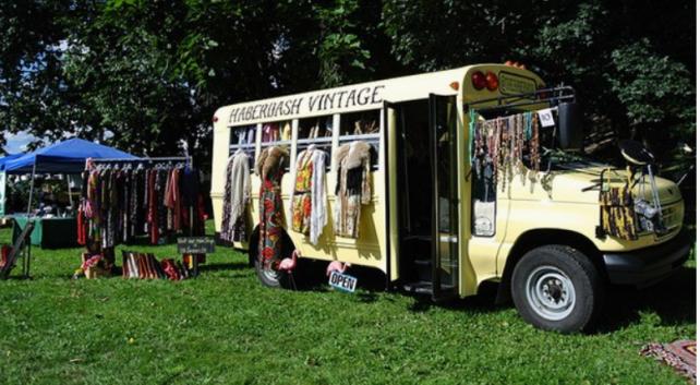 Bus shop