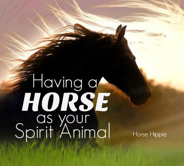 Having A Horse As Your Spirit Animal Ecoequine